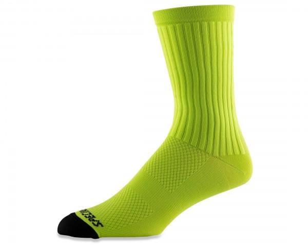 Specialized Hydrogen Aero Tall Socks | hyper green