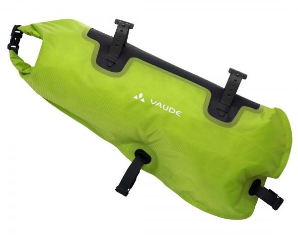 Vaude Trailframe 8 liter wasserdichte Rahmentasche füs Bikepacking   black-green