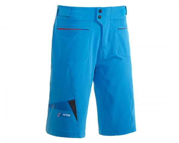 Cube Action Team Shorts PURE | blau