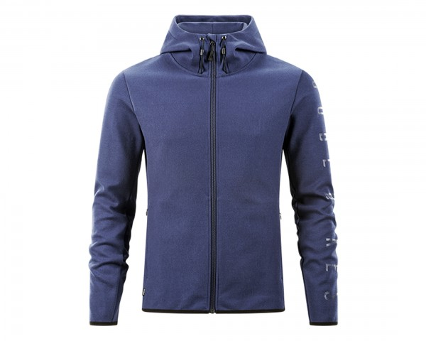 Cube Zip Hoodie Advanced | dark blue