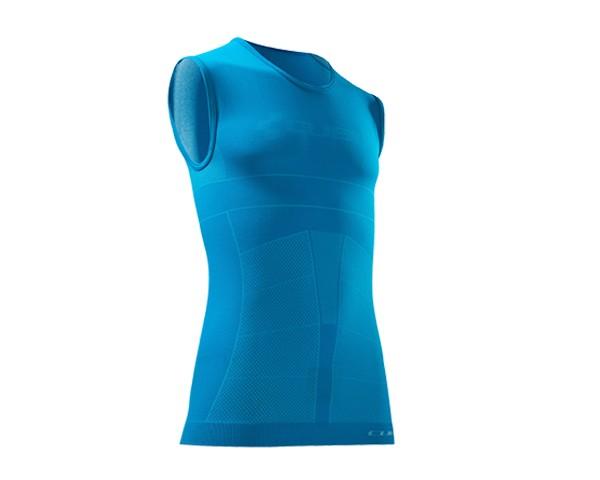 Cube Baselayer sleeveless Teamline | blue/white/red