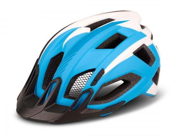 Cube Trekking Helmet QUEST | blue n white n black