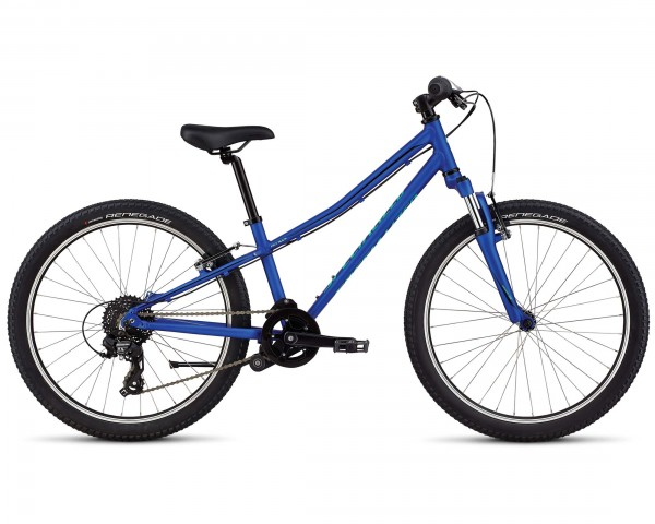Specialized Hotrock INT 24 Zoll - Jugend Fahrrad 2019   acid blue-black-cali fade