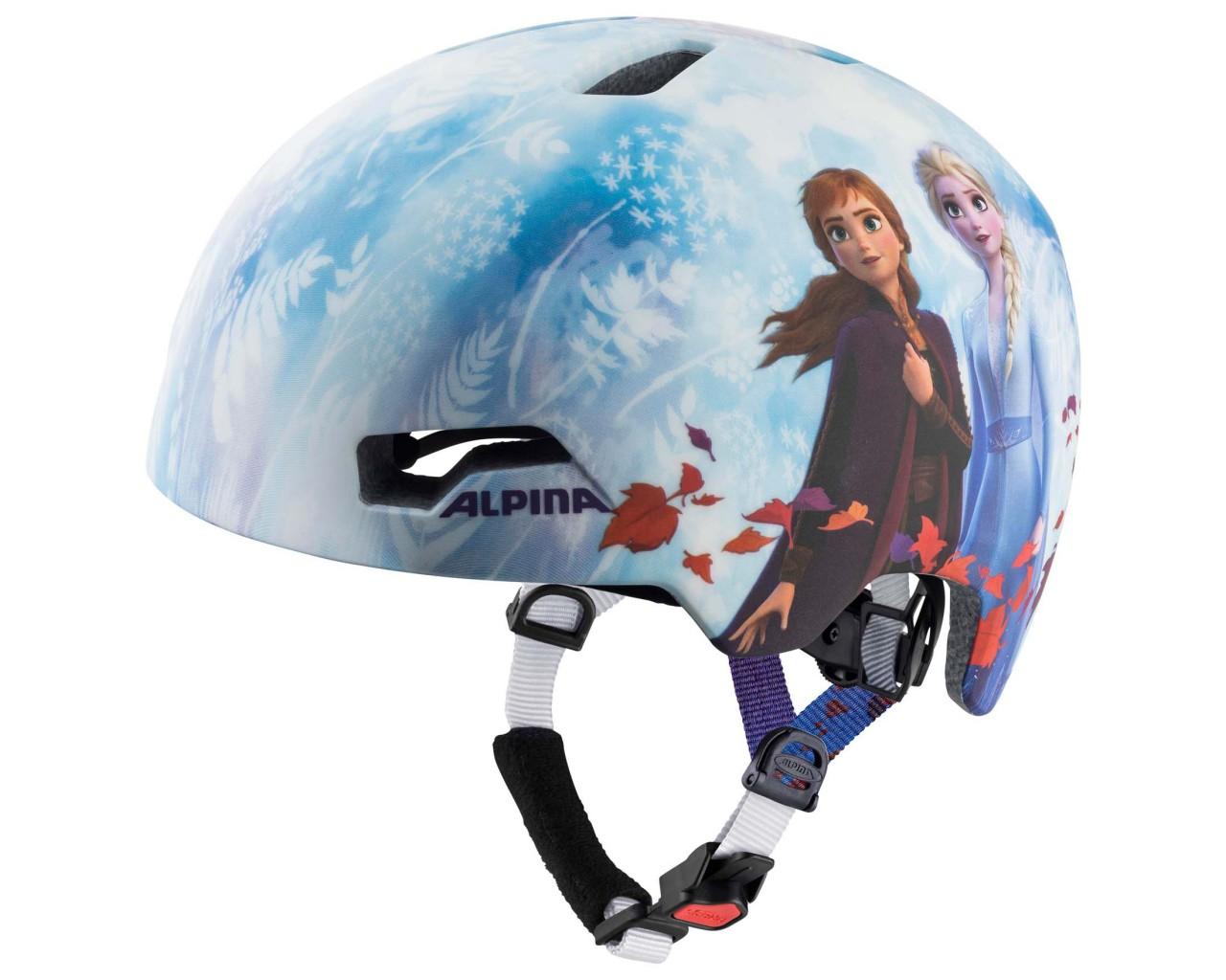 Alpina Hackney Kids Cycling Helmet | Disney Frozen II