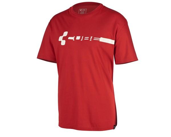 Cube Team Pilot T-Shirt Rot