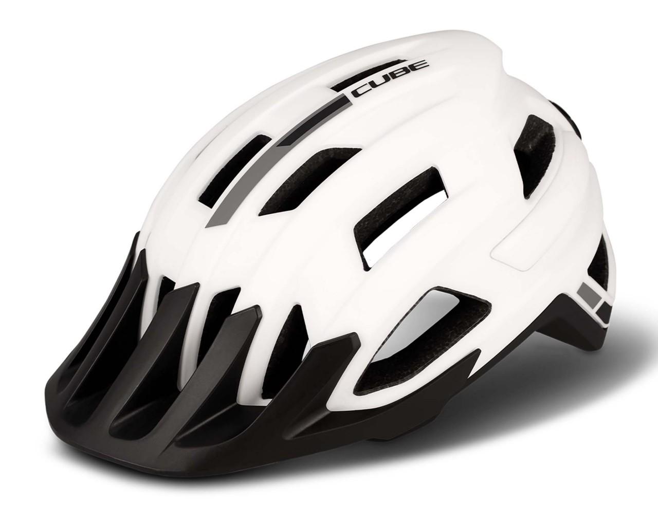 Cube ROOK MTB Helm   weiß