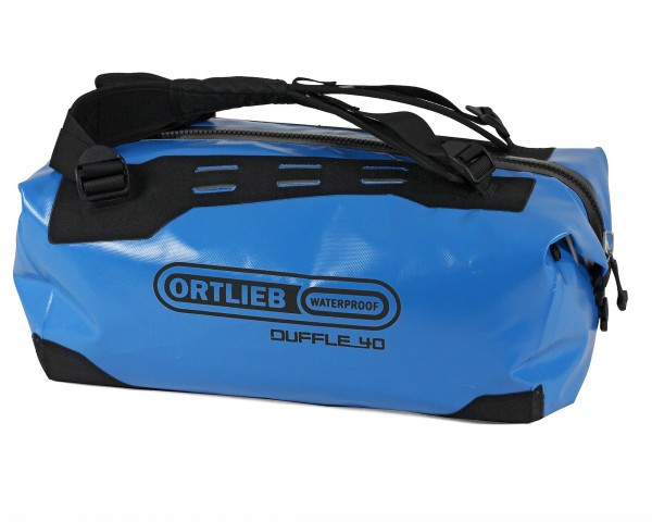 Ortlieb Duffle wasserdichte Tasche 40 liter | ozeanblau-schwarz
