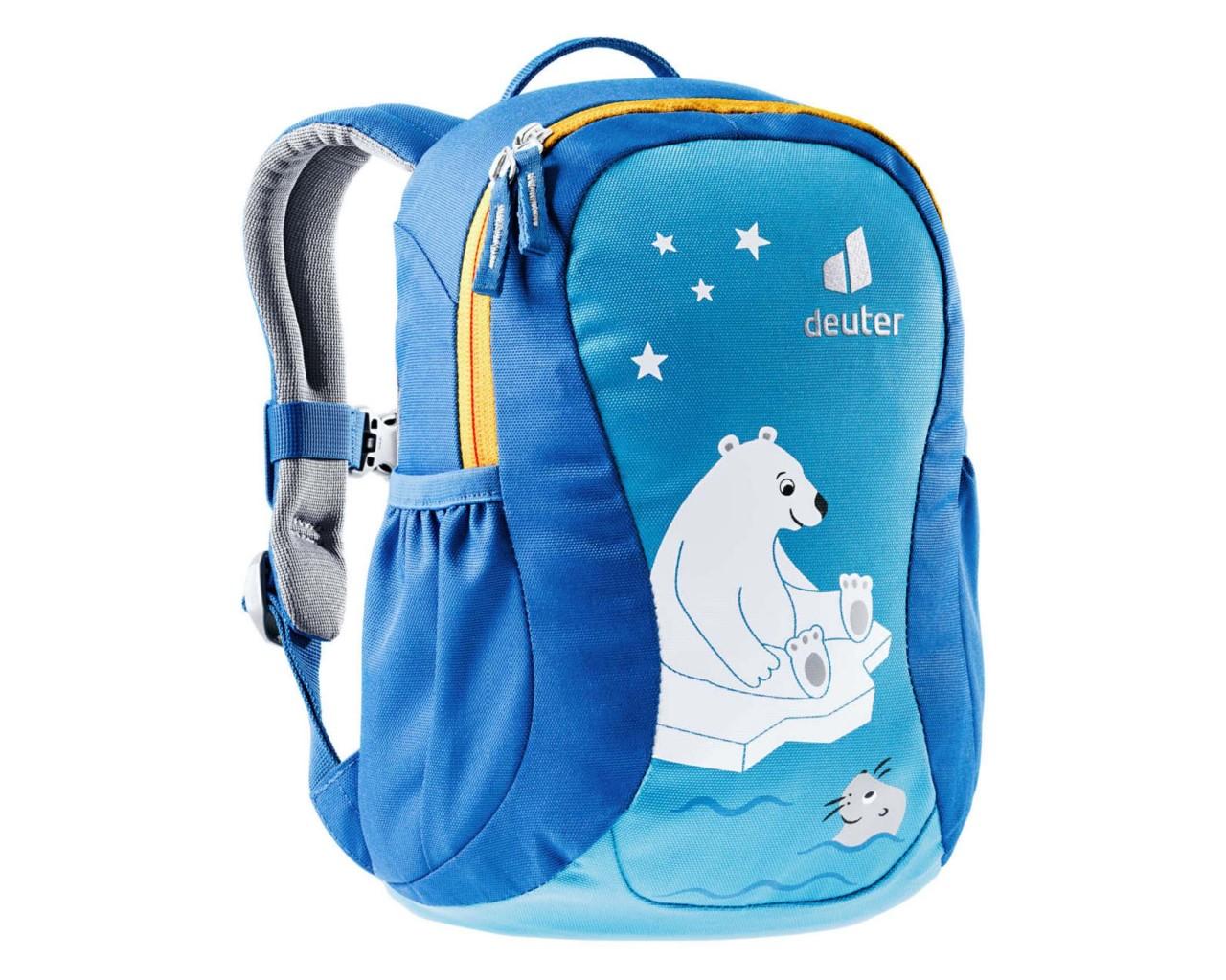 Deuter Pico 5 litres Kids Backpack PFC-free | azure-lapsis