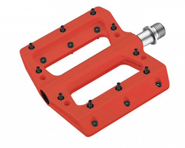 Cube RFR Pedals Flat ETP | red