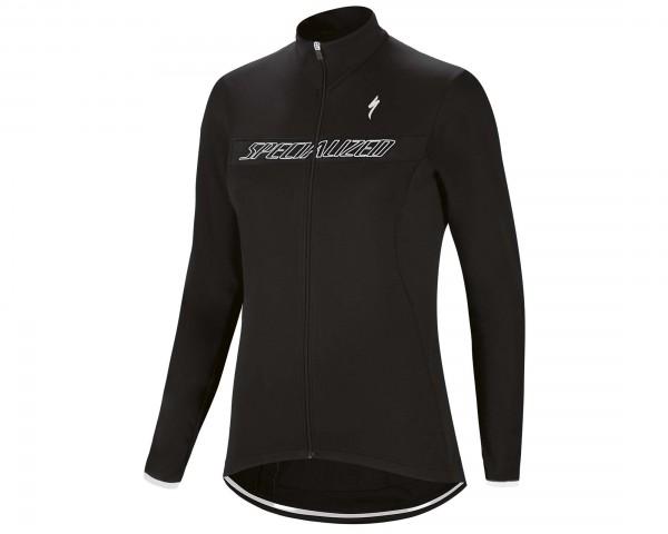 Specialized Therminal RBX Sport Logo longsleeve Womens Jersey | black-white