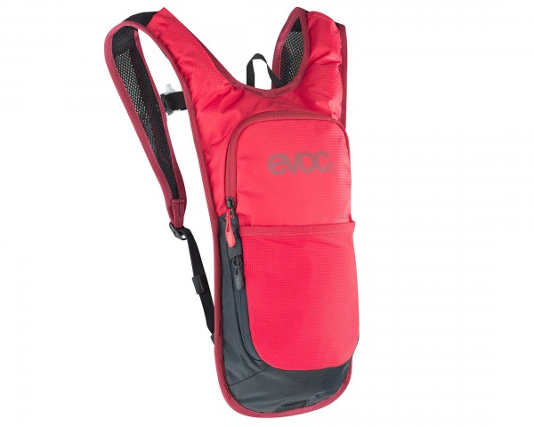 Evoc CC 2 litres bike backpack + 2 litres bladder | red