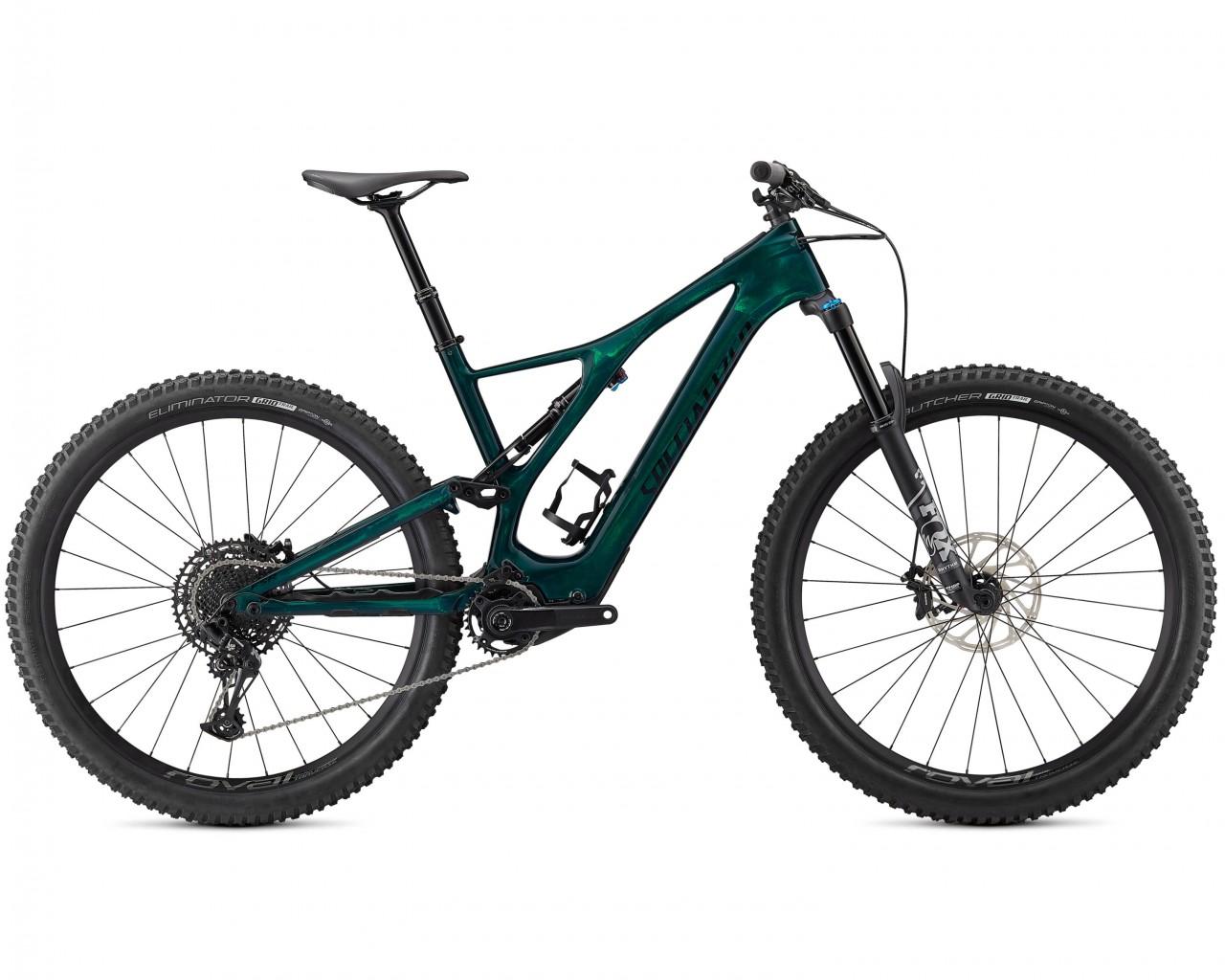 Specialized Levo SL Comp Carbon 29 - Pedelec Carbon Mountain Bike Fullsuspension 2021   green tint-black