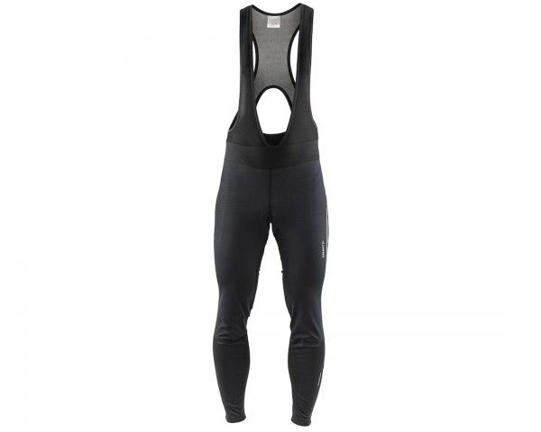Craft Ideal Pro Wind Bib Tights mit Pad | black