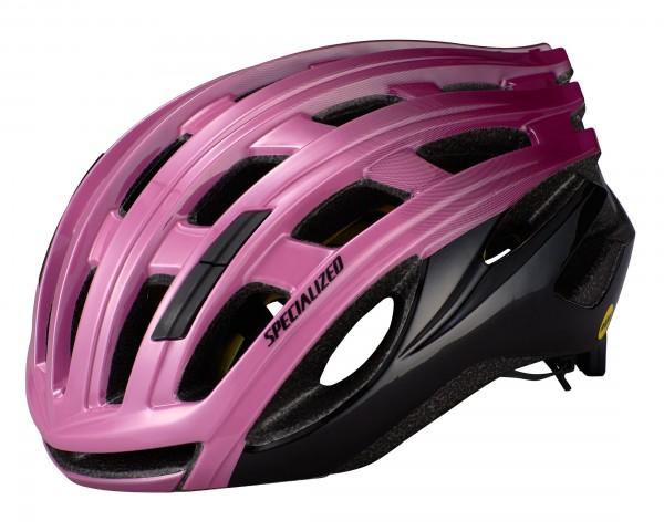 Specialized Propero III MIPS Rennrad Helm mit ANGi | cast berry-dusty lilac