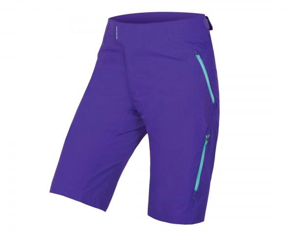 Endura Womens SingleTrack Lite Shorts II | cobalt blue