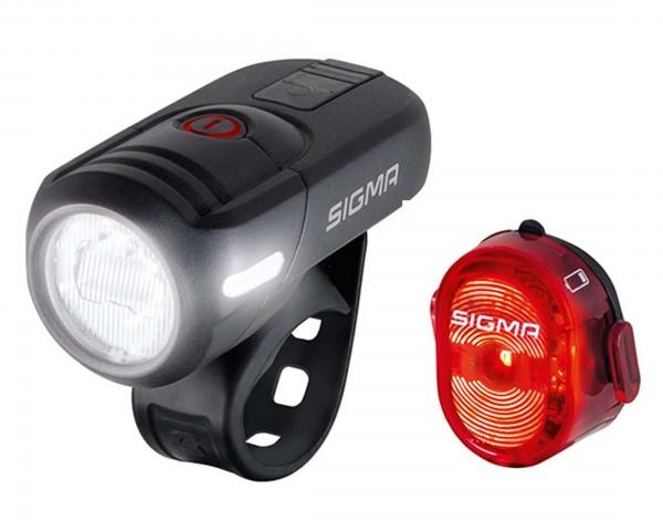 Sigma Sport AURA 45 USB Nugget II Set