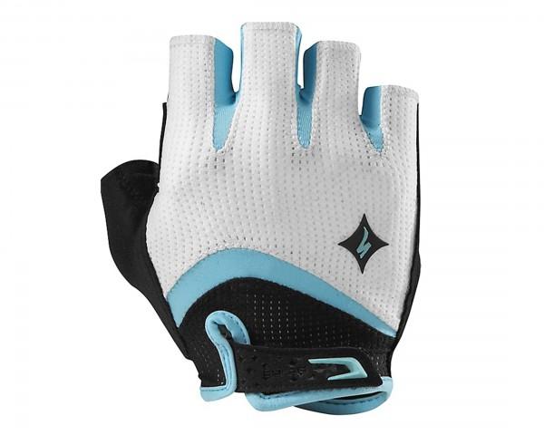 Specialized Women's Body Geometry Gel Handschuhe | Weiß/Hellblau