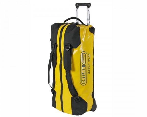 Ortlieb Duffle RG 85 liter waterproof travel bag | sun yellow-black