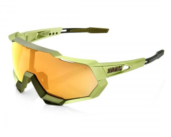 100% Speedtrap - Mirror Lense Sportbrille | matt metallic Viperidae