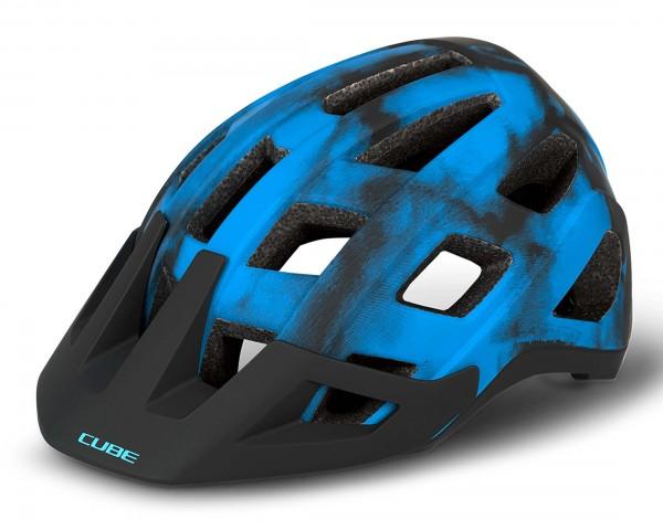 Cube BADGER MTB Helmet | blue