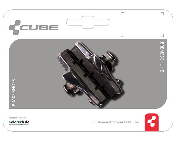 Cube 2-Piece Replaceable Road Brake Shoes