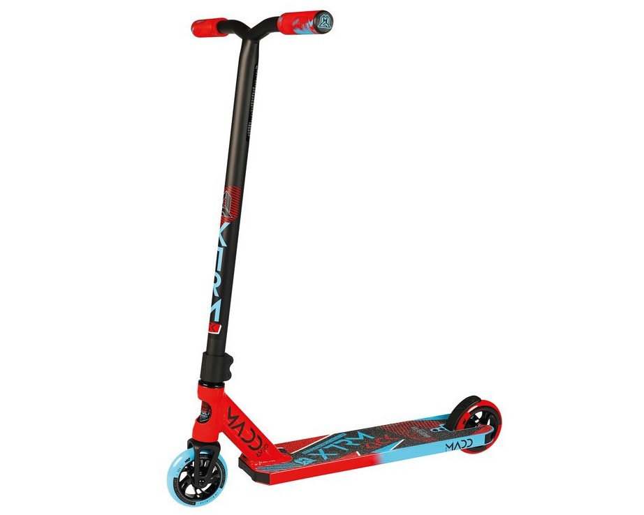 Madd Stuntscooter Kick Extreme | red-blue