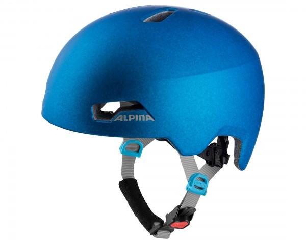 Alpina Hackney Kinder Fahrradhelm   blue