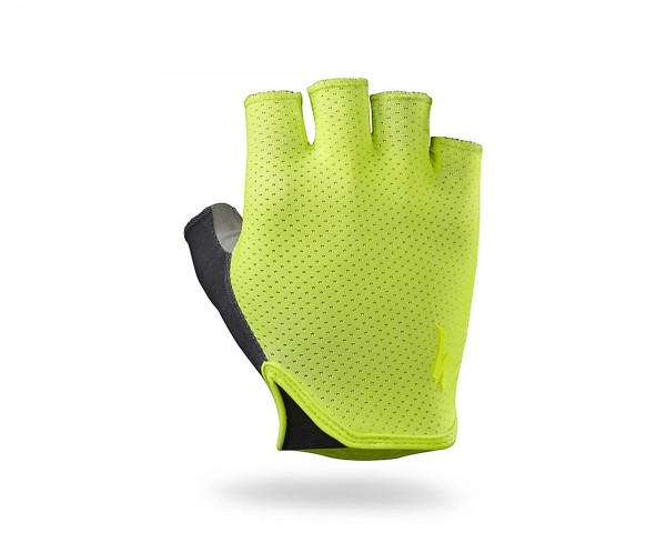 Specialized Grail short finger Gloves | neon yellow