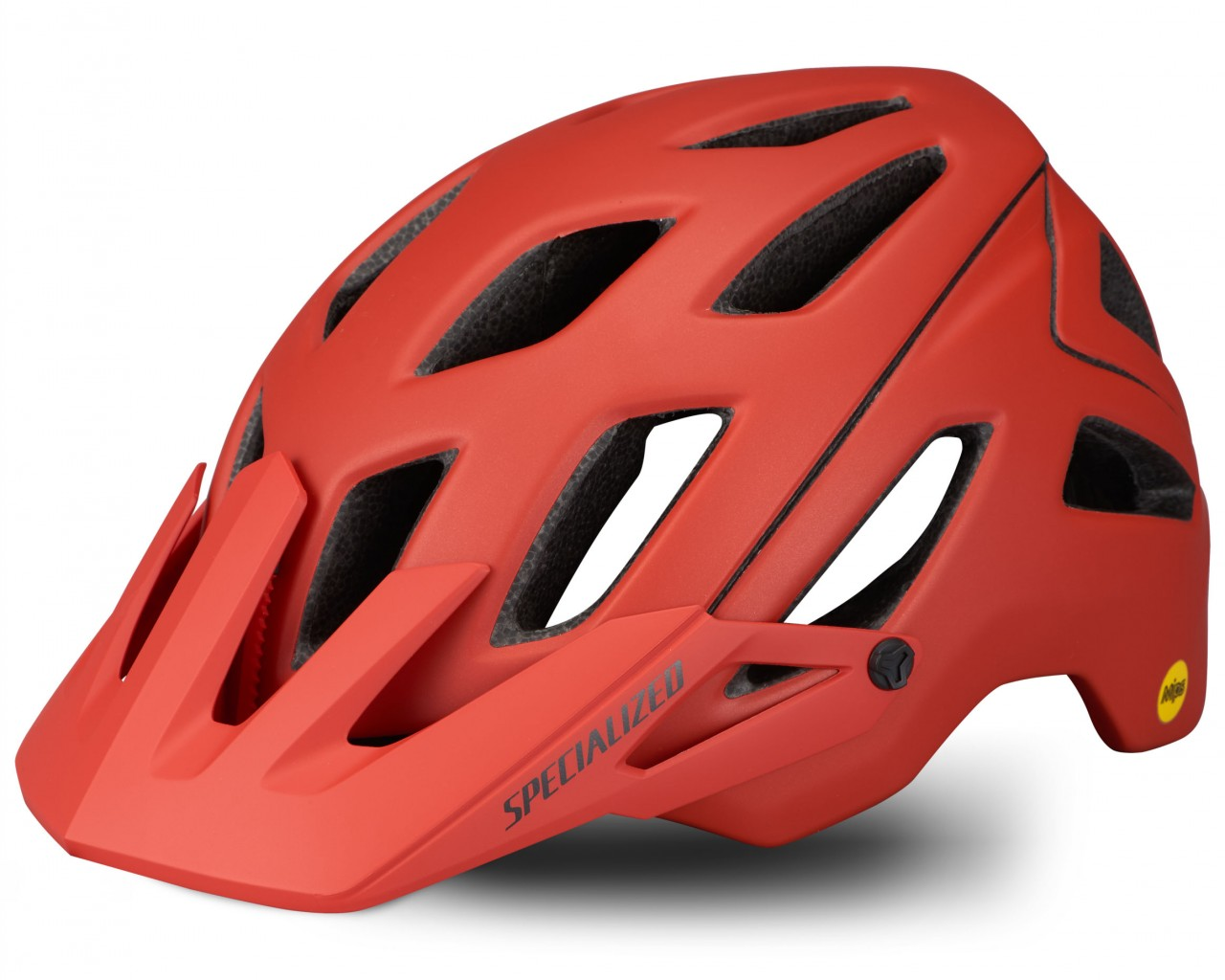 Specialized Ambush MTB Helmet ANGi ready & MIPS | satin redwood-gunmetal