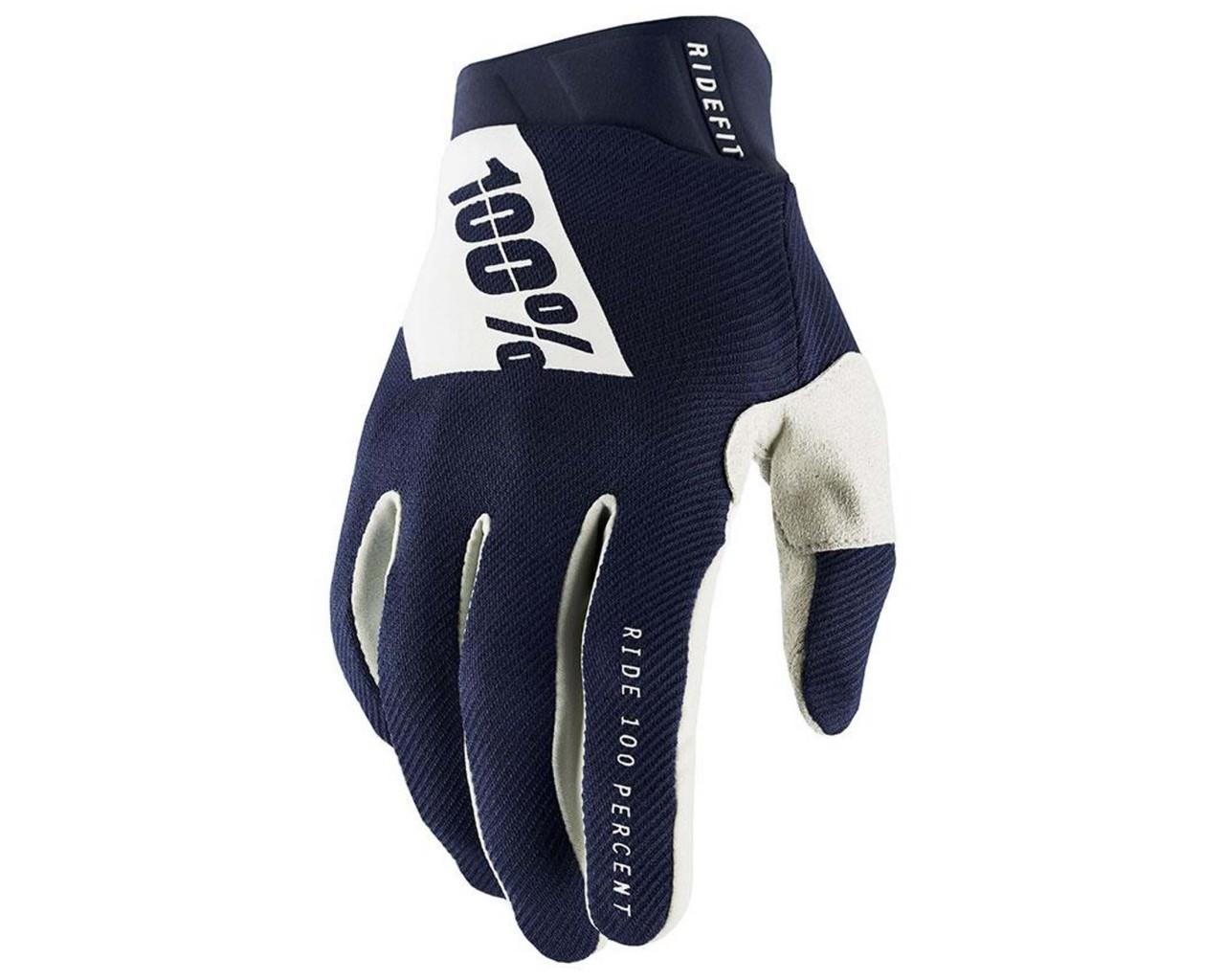 100% Ridefit Gloves (SP21) | navy-white