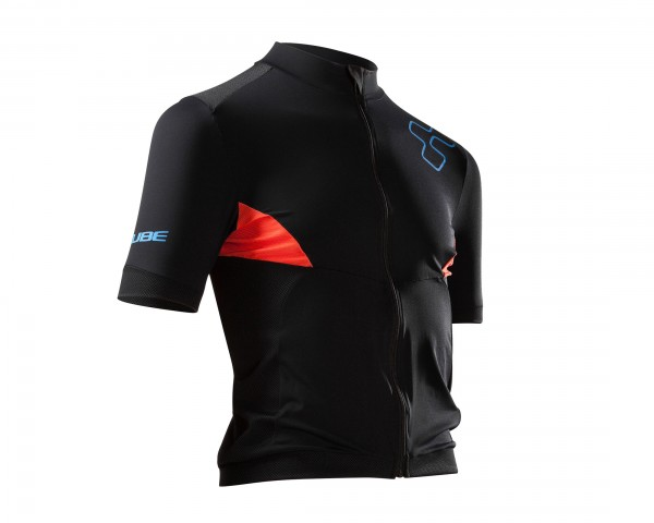 Cube black Zero Jersey Short Sleeve | black/anthrazit/blue/red