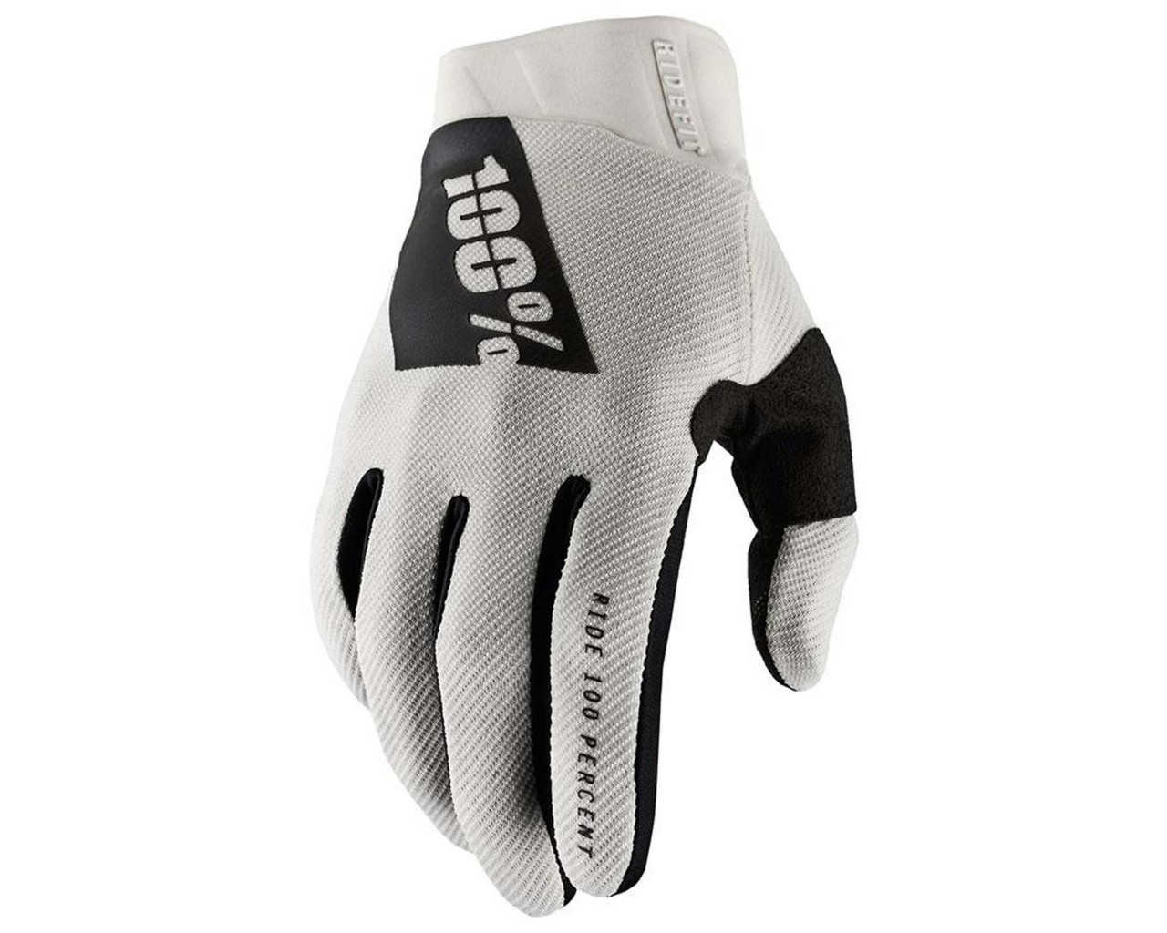 100% Ridefit Gloves (SP21) | stone