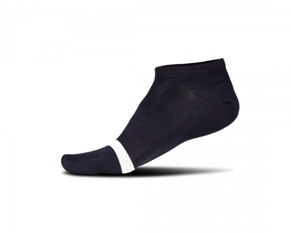 Cube Sock Low Cut Blackline | black