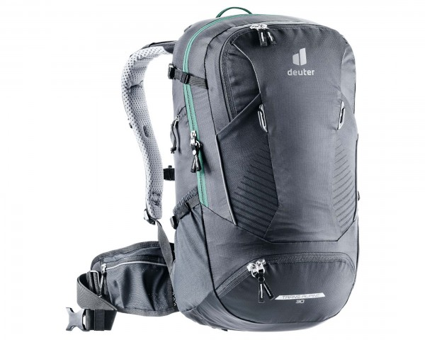 Deuter Trans Alpine 32 EL - Bike Backpack extra long   black