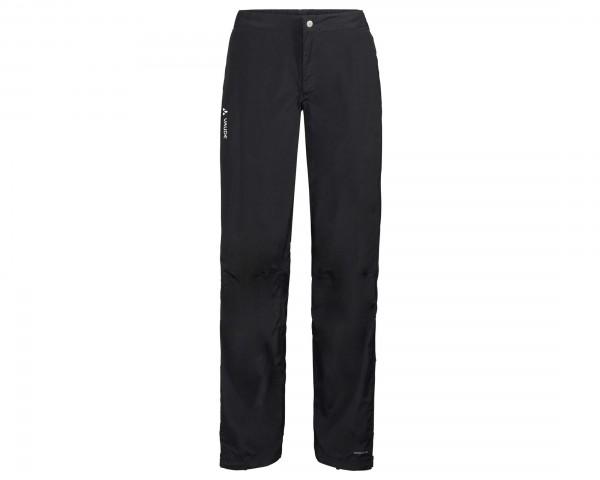 Vaude Womens Yaras Rain Pants III | black