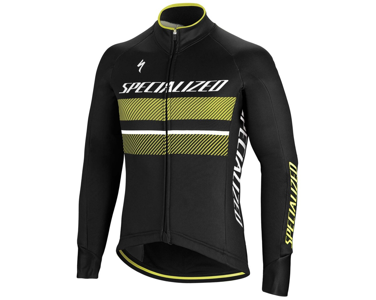 Specialized Element RBX Comp Logo Jacket   black-neon yellow