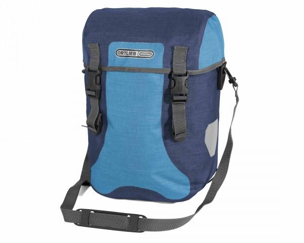 Ortlieb Sport-Packer Plus QL2.1 waterproof expedition bag (pair) PVC-free   denim-stealblue