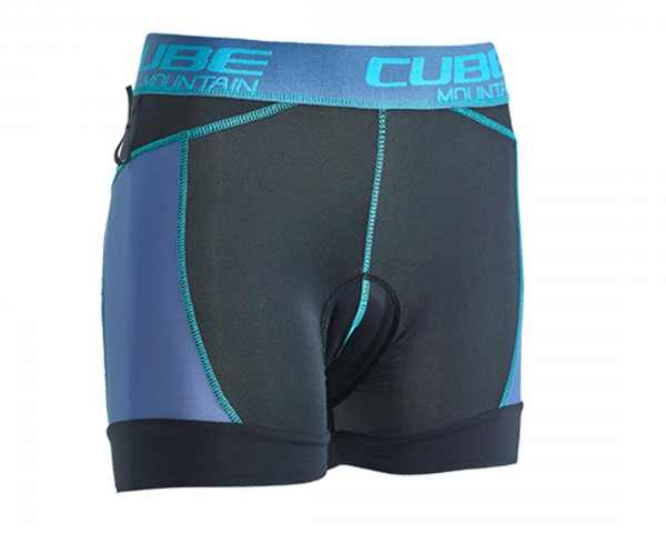 Cube WLS Inner Hot Pants AM | black n taupe