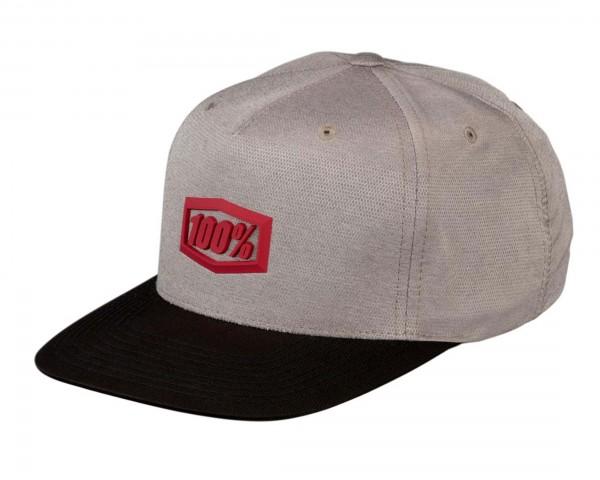 100% Enterprise 2019 Snapback Hat   warm grey