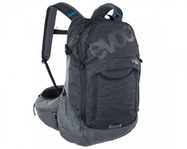 Evoc Trail Pro 26 litres Protector backpack | black-carbon grey