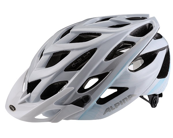 Alpina D-Alto MTB Fahrradhelm   white-blue-silver