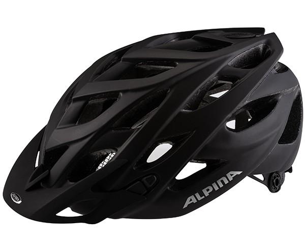 Alpina D-Alto L.E. Fahrradhelm   black matt
