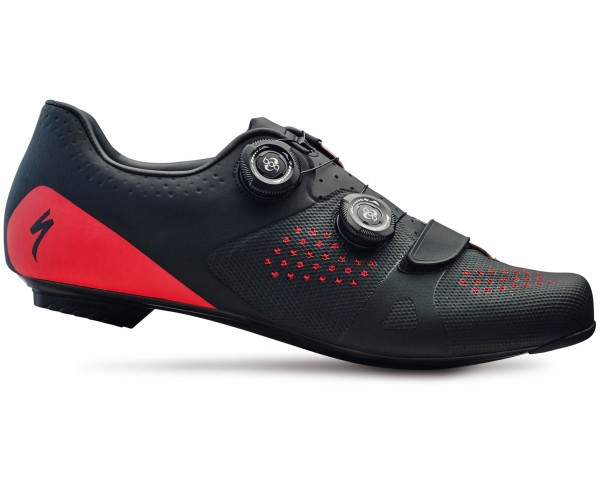 Specialized Torch 3.0 Road Bike Shoes | black-red