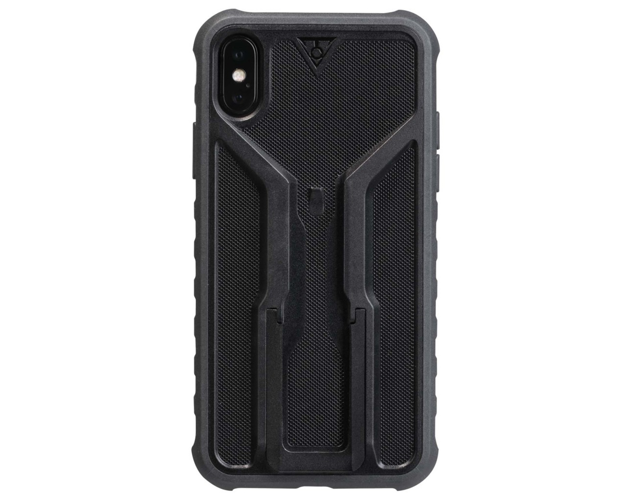 Topeak RideCase für iPhone X und XS mit Halter | black-gray