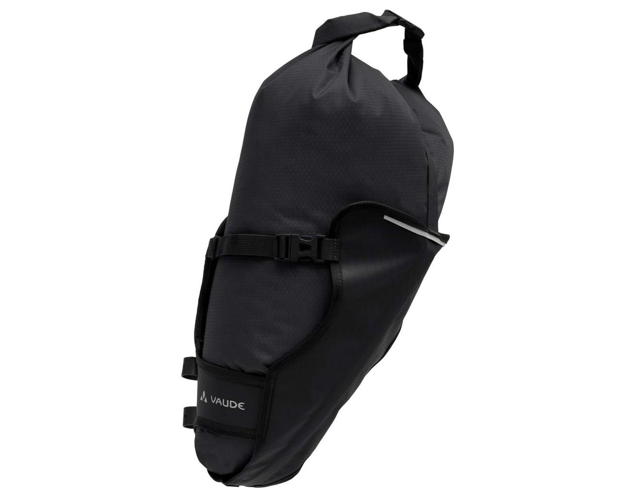 Vaude Trailsaddle 12 liter wasserdichte Satteltasche füs Bikepacking   black uni