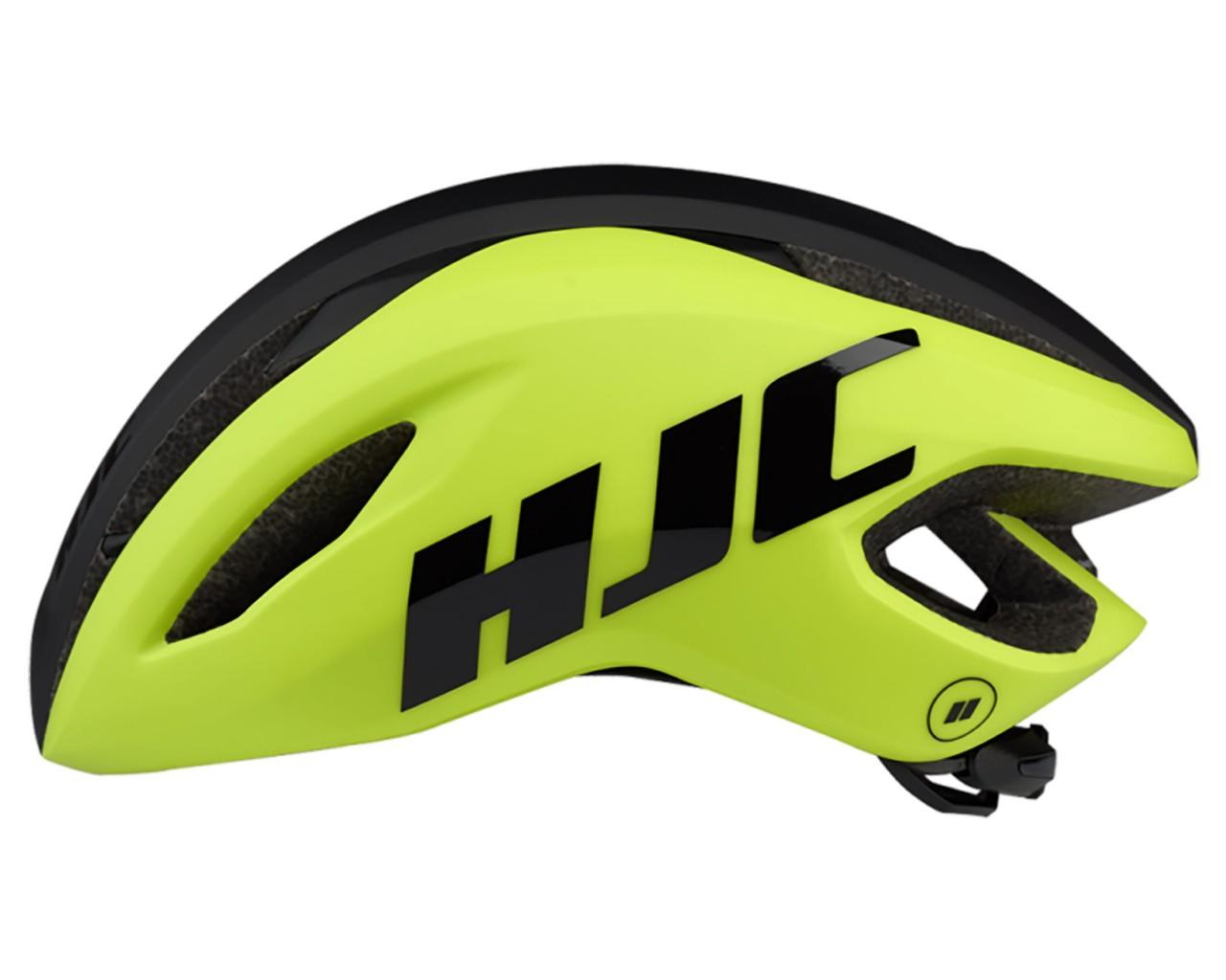 HJC Valeco Rennrad Helm   matt gloss yellow black