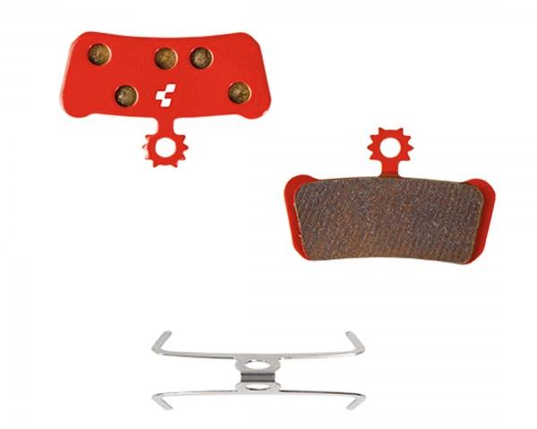 Cube Disc Brake Pad Avid Elixir Trail X0/X9/X7, SRAM Guide R | red