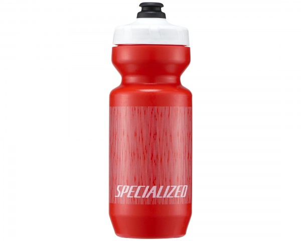 Specialized Purist MoFlo Bottle 650 ml | red-white linear blur