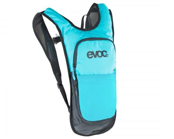 Evoc CC 2 Liter Fahrradrucksack + 2 Liter Bladder | neon blue