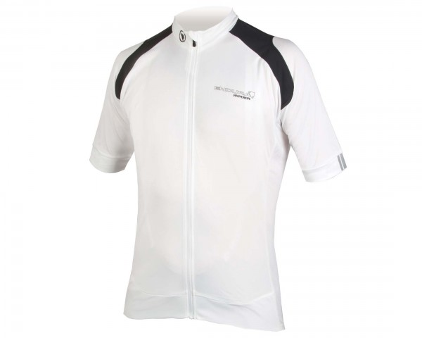 Endura Hyperon short sleeve jersey | white